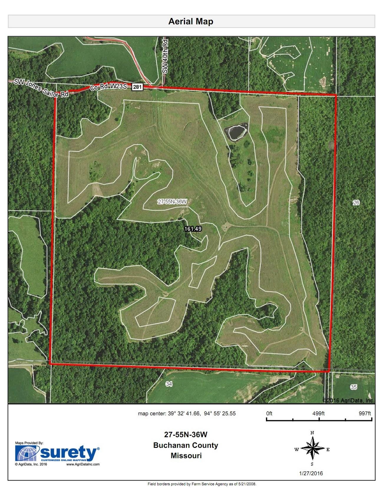 Aerial Map HOLT