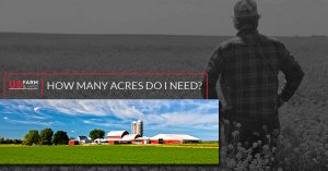 How Many Acres Do I Need On My Rural Real Estate?